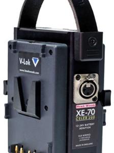 Adaptador Batería 12-24V CC para Kino Flo Celeb
