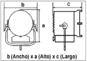 Arri X 40-25-medidas