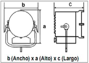 LED SL1 Swicht DMX Kit-medidas