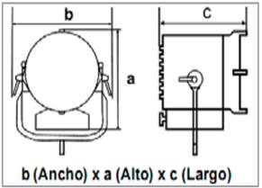 ROSCO LitePad Pro Gaffer's Axiom Daylight-medidas