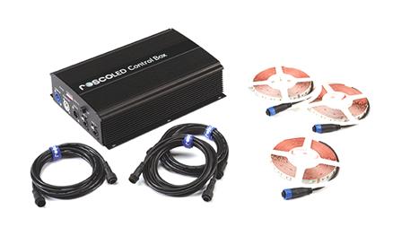 RoscoLED ControlBox + 3xTira 5m RGB+W Kit